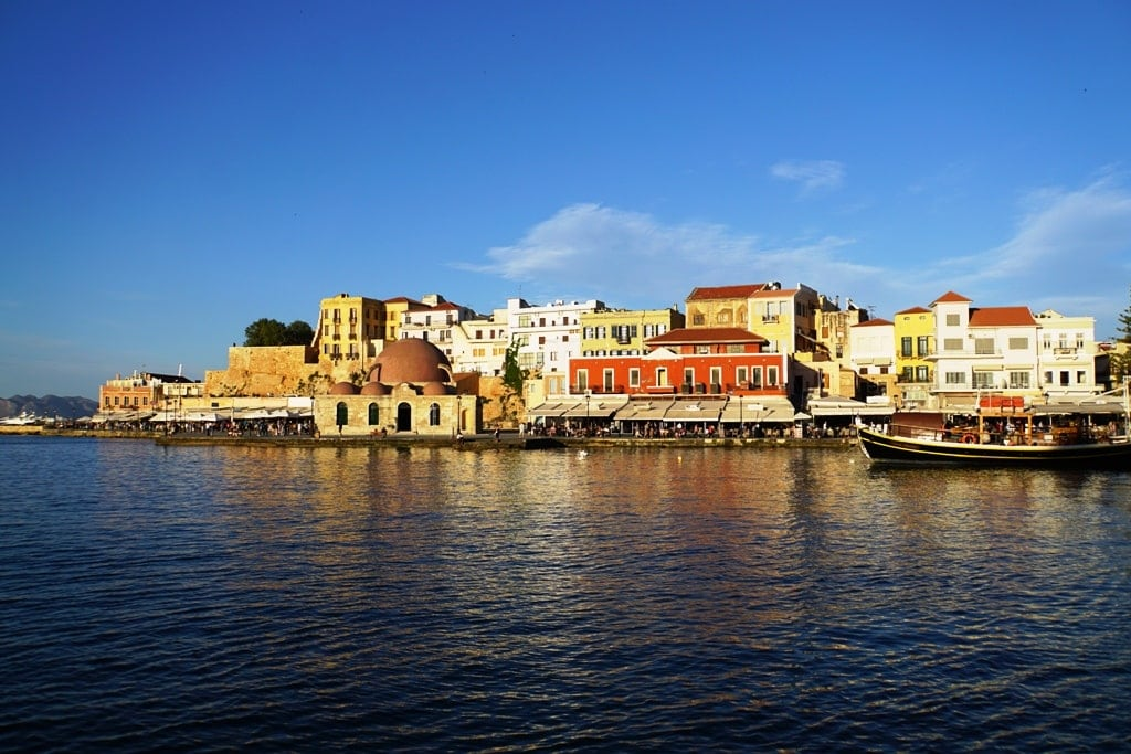 chania crete - how to get from Athens to Crete