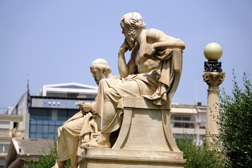 plato and socrates - famous people of Greece