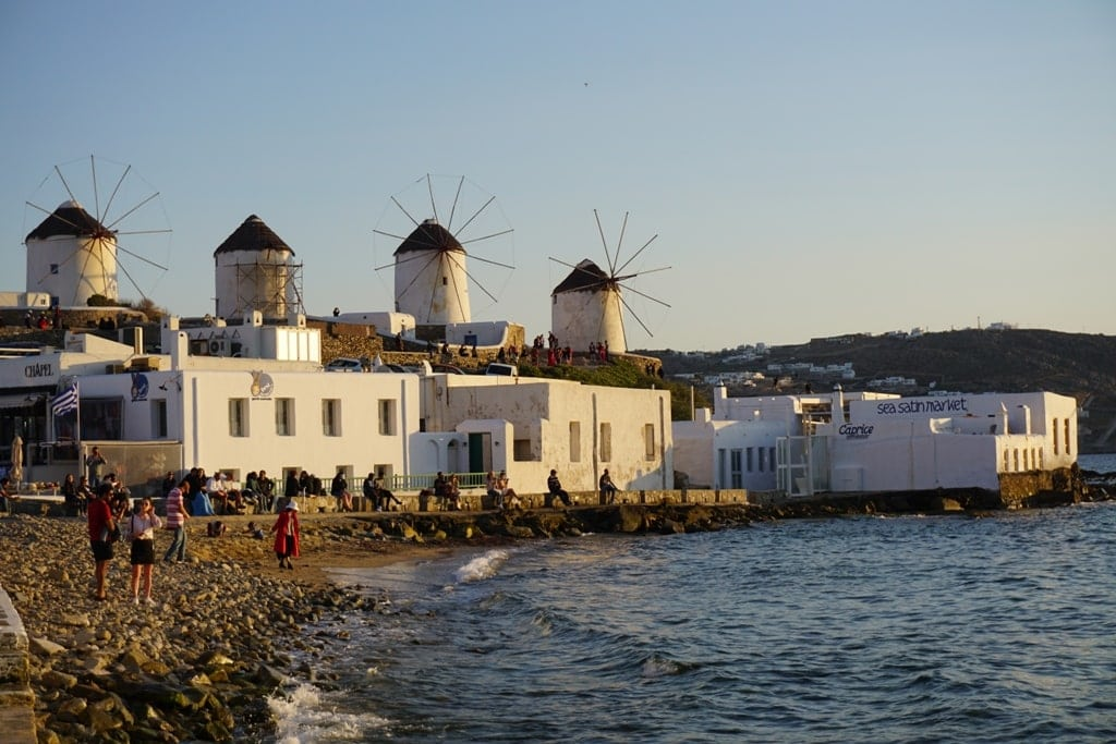 Mykonos Windmills - one day in Mykonos