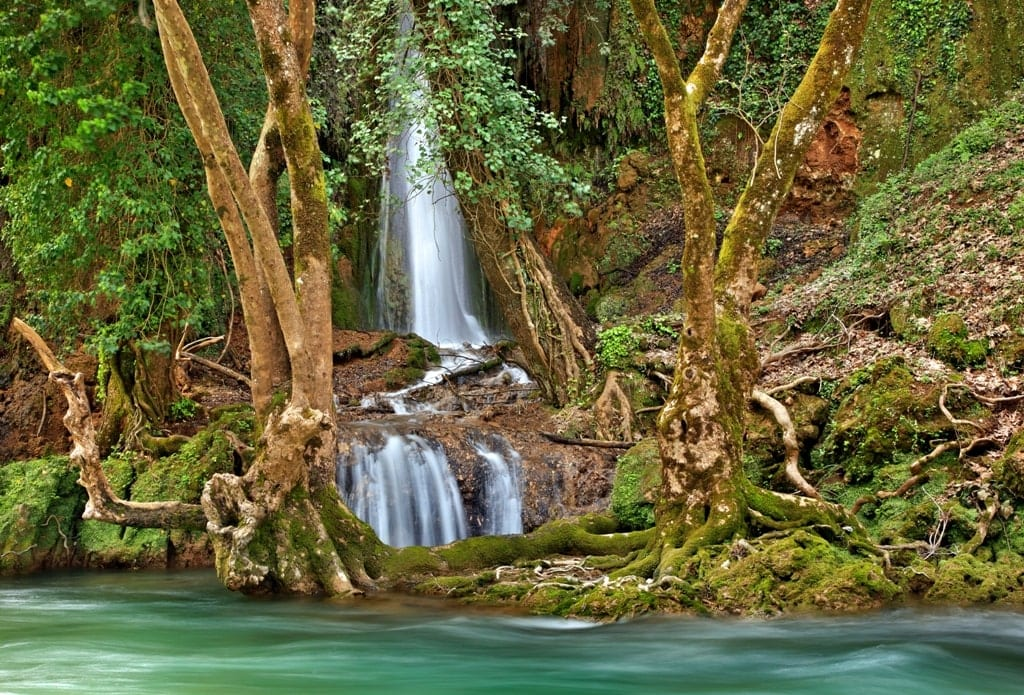 Nemouta Waterfall Greece