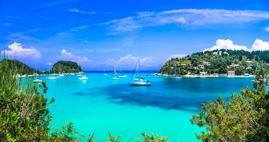 Lakka Paxos island - Best Greek islands to visit