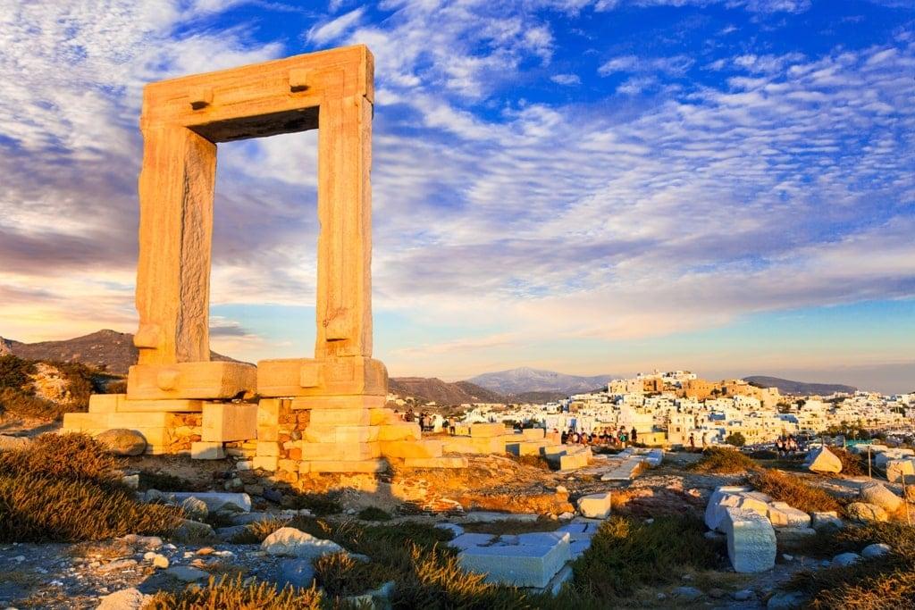 Portara of Naxos - temple of Apollo