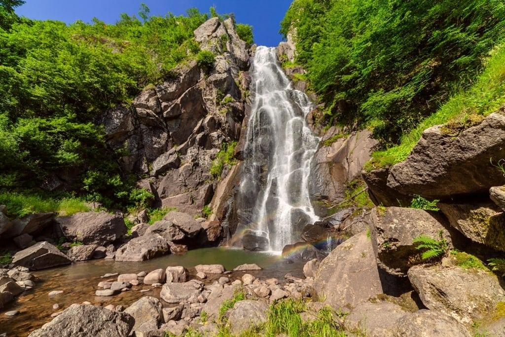 Lepida Waterfall in Greece