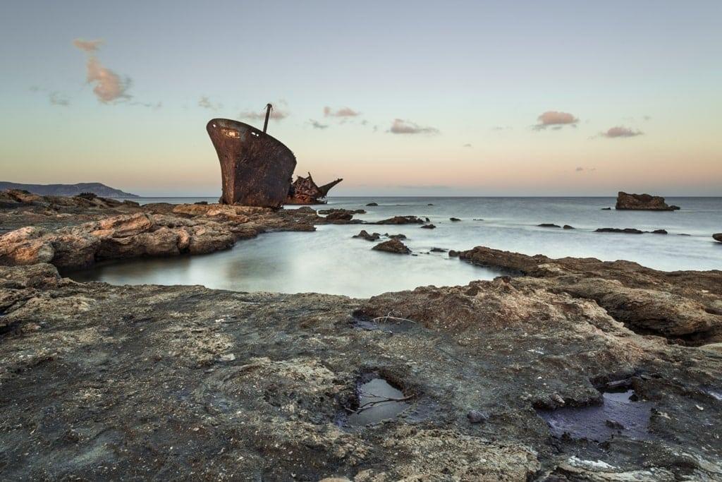 Shipwreck, Karpathos Greece