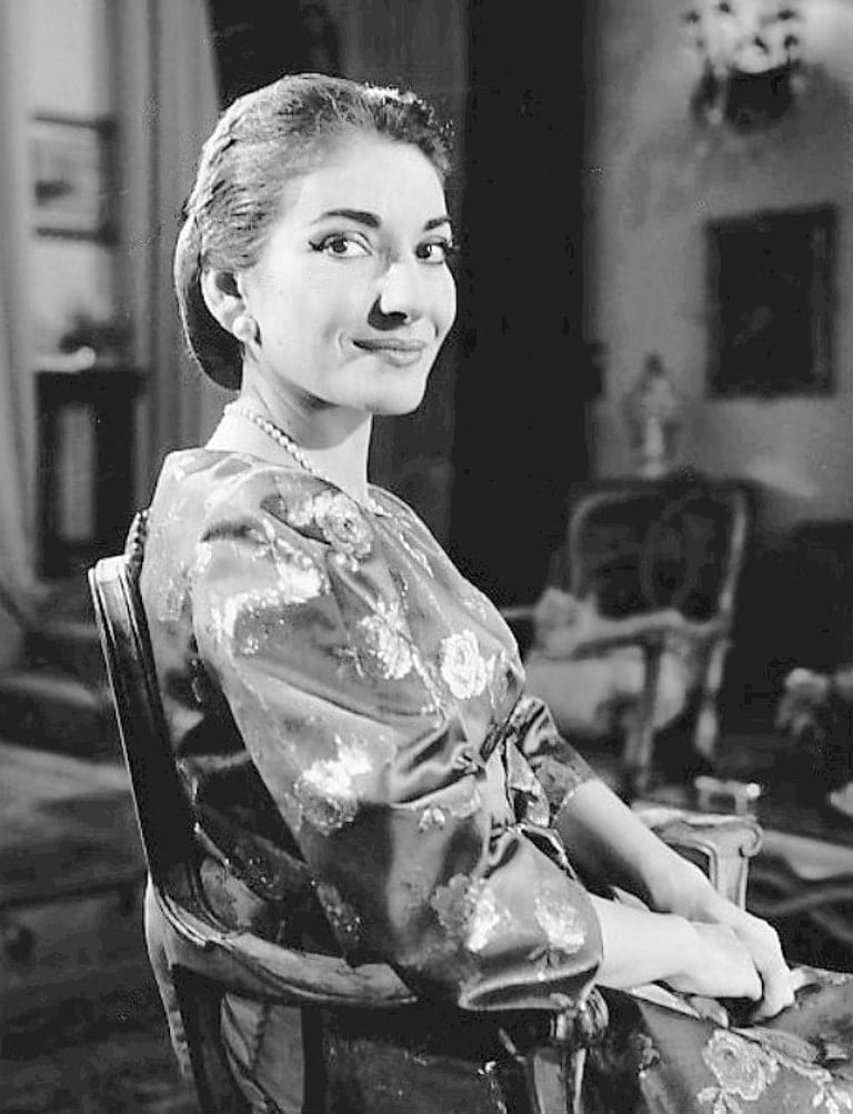 Maria Callas - famous greeks