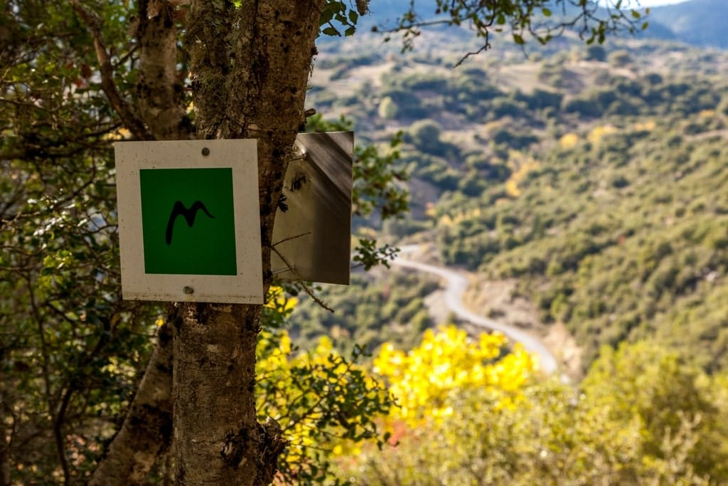 hiking in Greece - Mainalon Trail