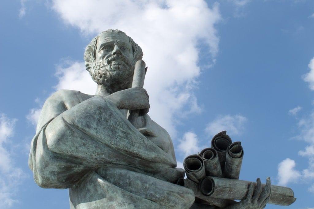 Aristotle - famous people of Greece