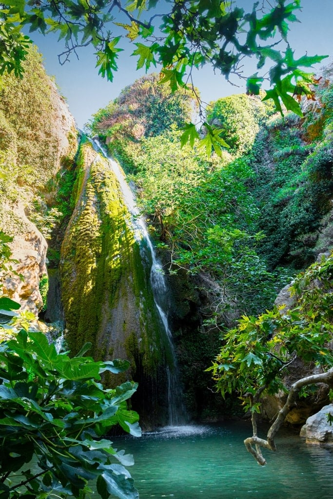 Richtis Waterfall - Waterfalls in Greece