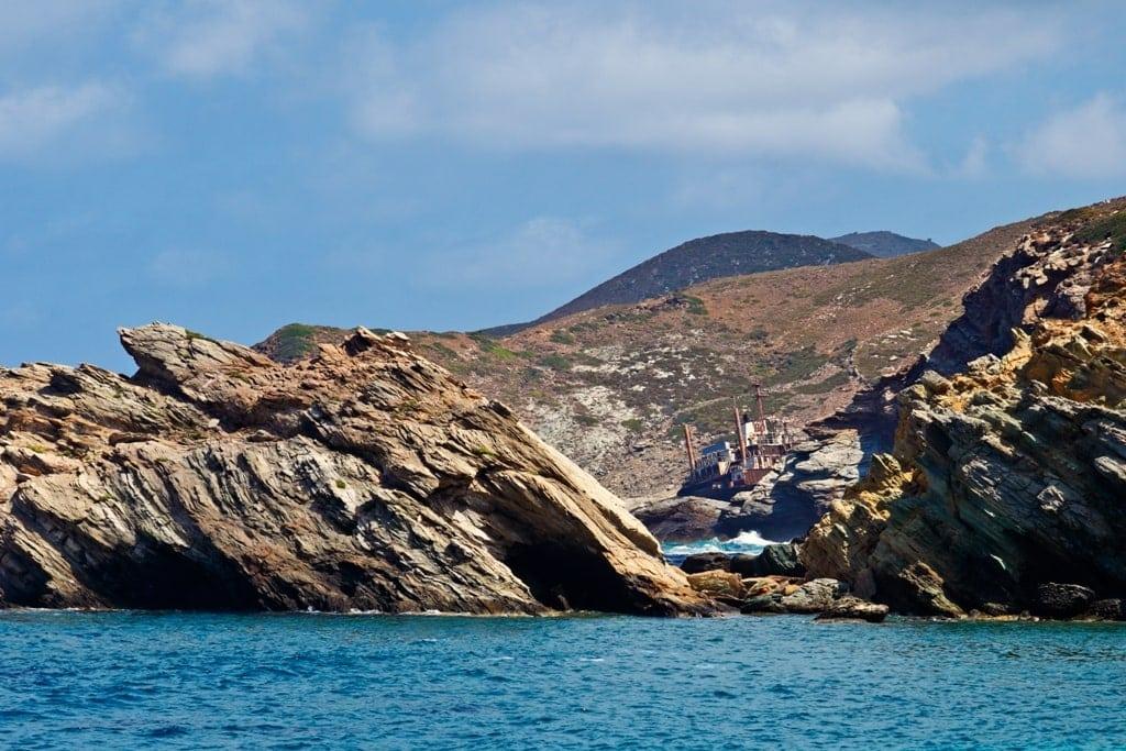 Semiramis Shipwreck Greece