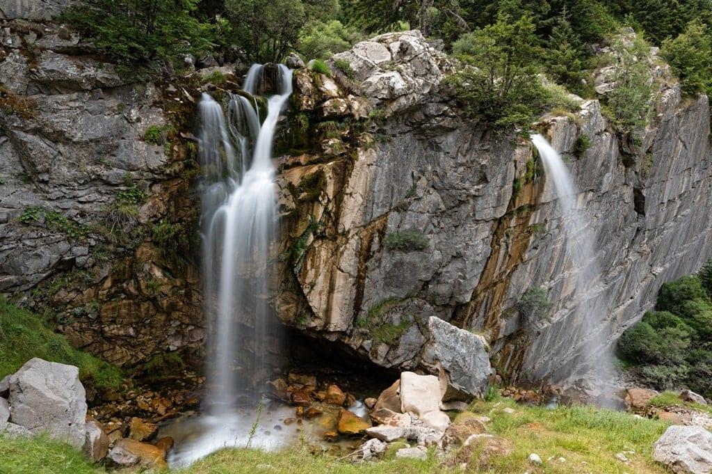 Souda Waterfalls - Greece waterfalls