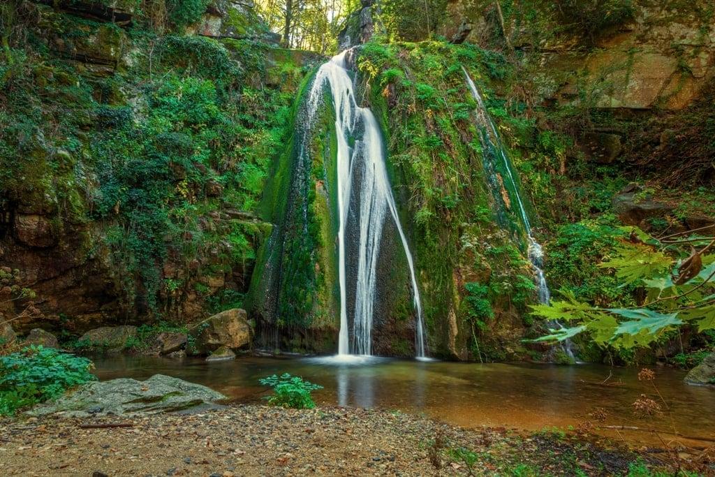 Agia Varvara Waterfall Halkidiki Greece