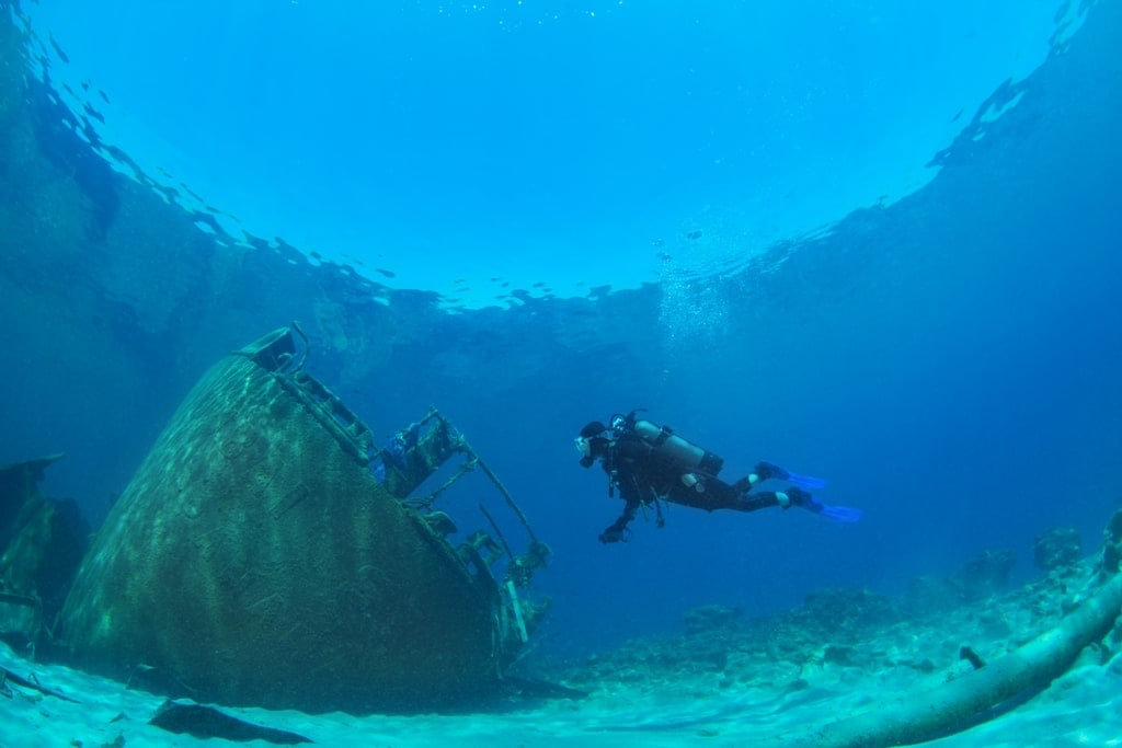 diving in Greece Mykonos Anna II