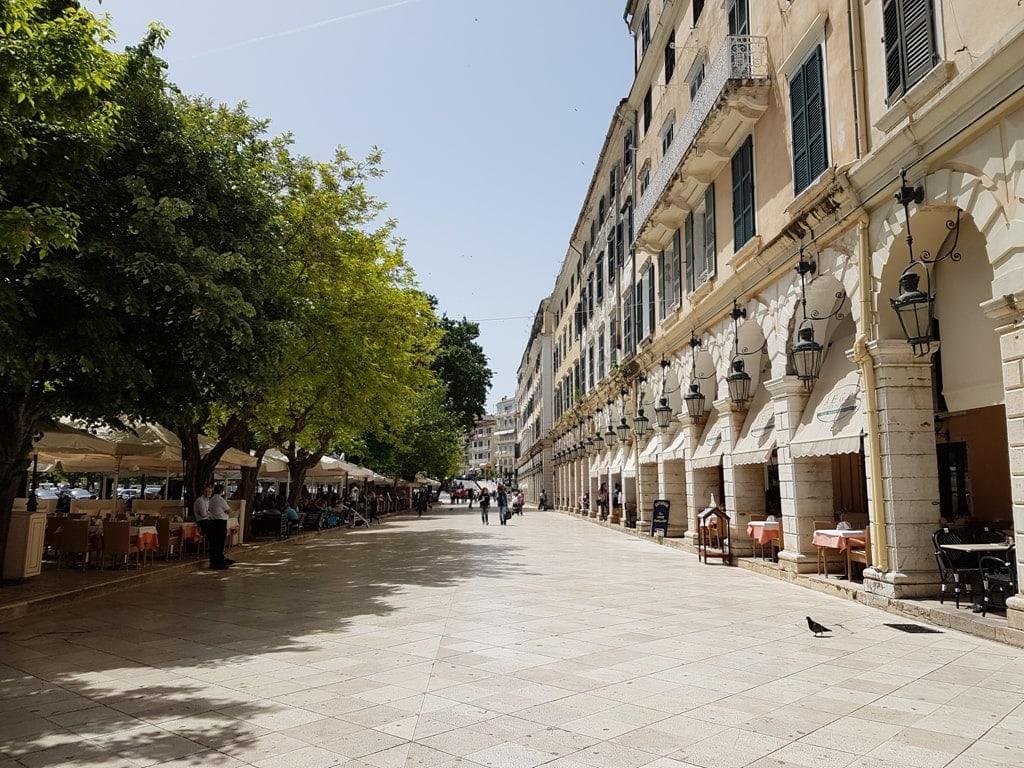 Corfu old town - where to stay in Corfu