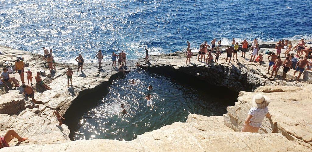 Giola Lagoon -best beaches in Thassos