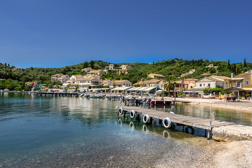 Agios Stefanos - where to stay in Corfu