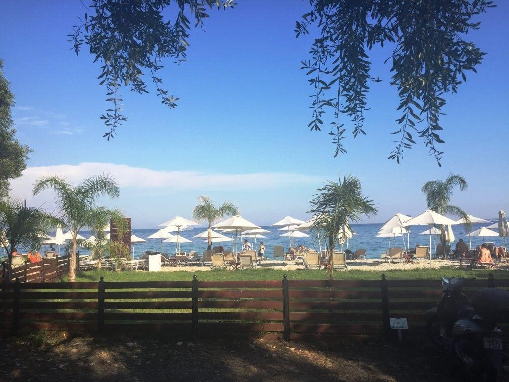 Barbati Beach - great place to stay in Corfu