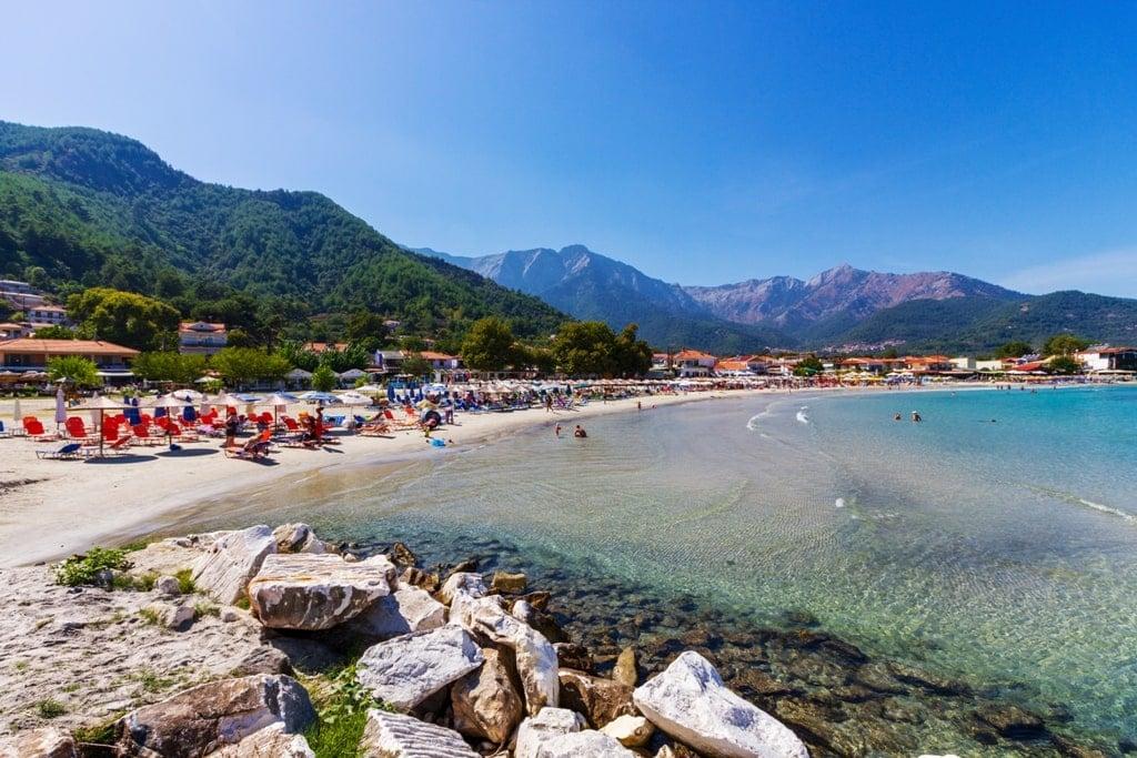 Psili Ammos - best Thassos Beaches