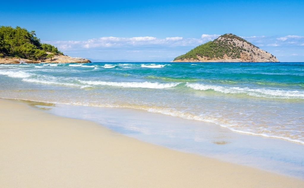 Paradise beach - best beaches in Thassos