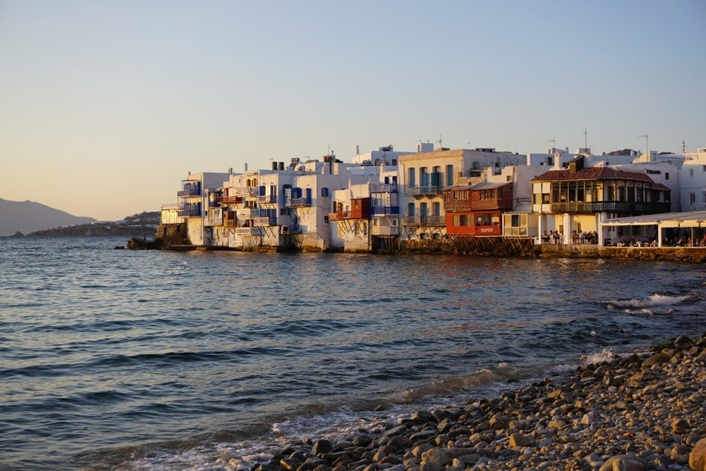 Little Venice Mykonos in a day