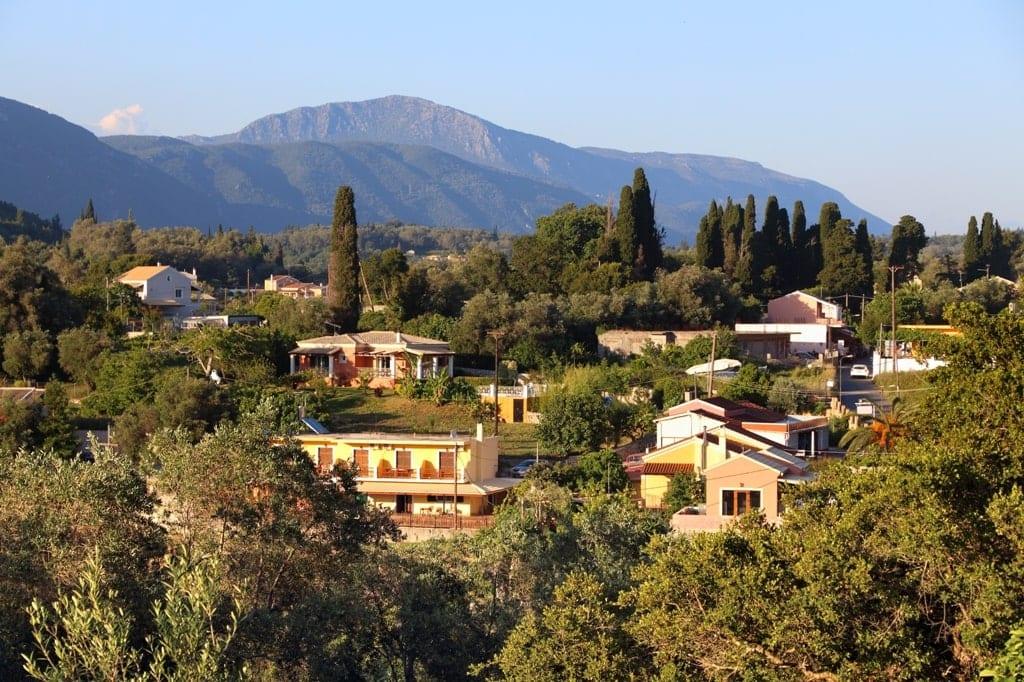 Liapades in Corfu
