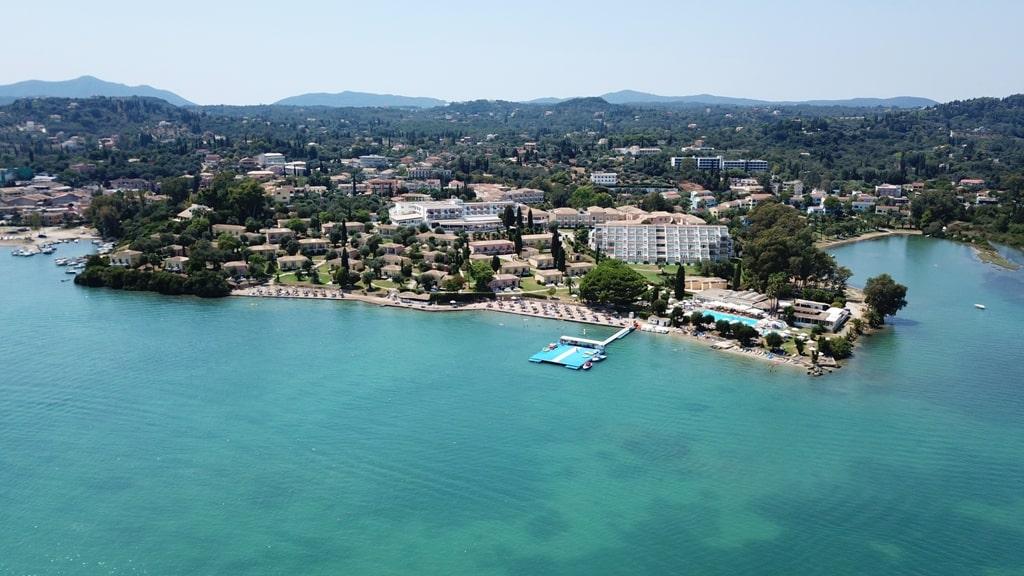 Kontokali - Gouvia Bay - best places to stay in Corfu