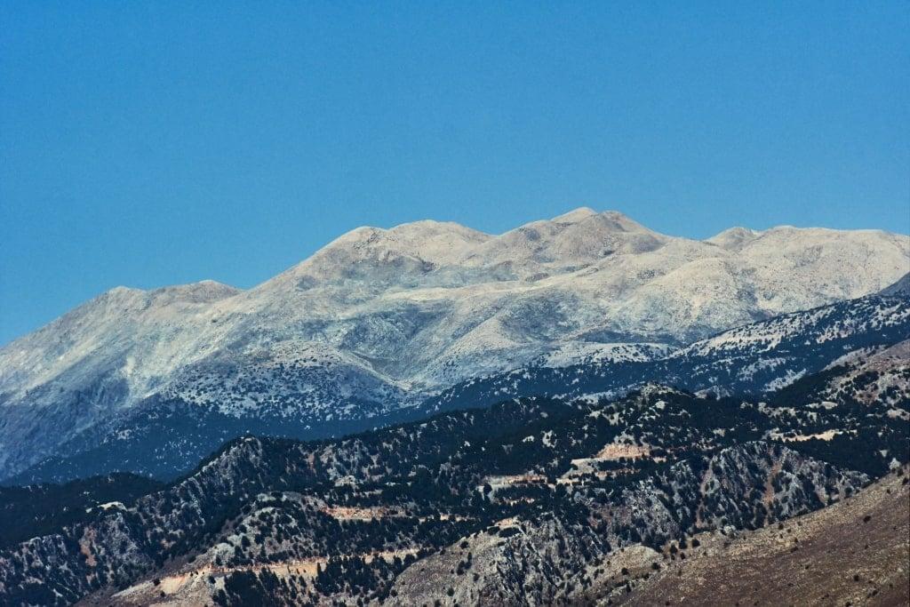 Lefka Ori - White mountains in Crete