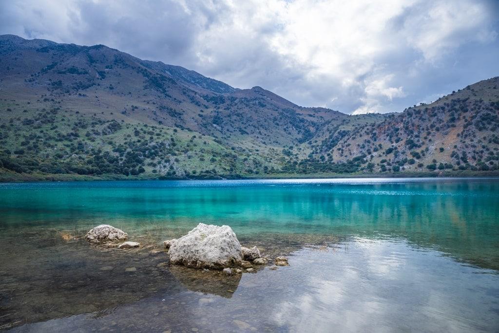 Lake Kournas Crete - Lakes of Greece