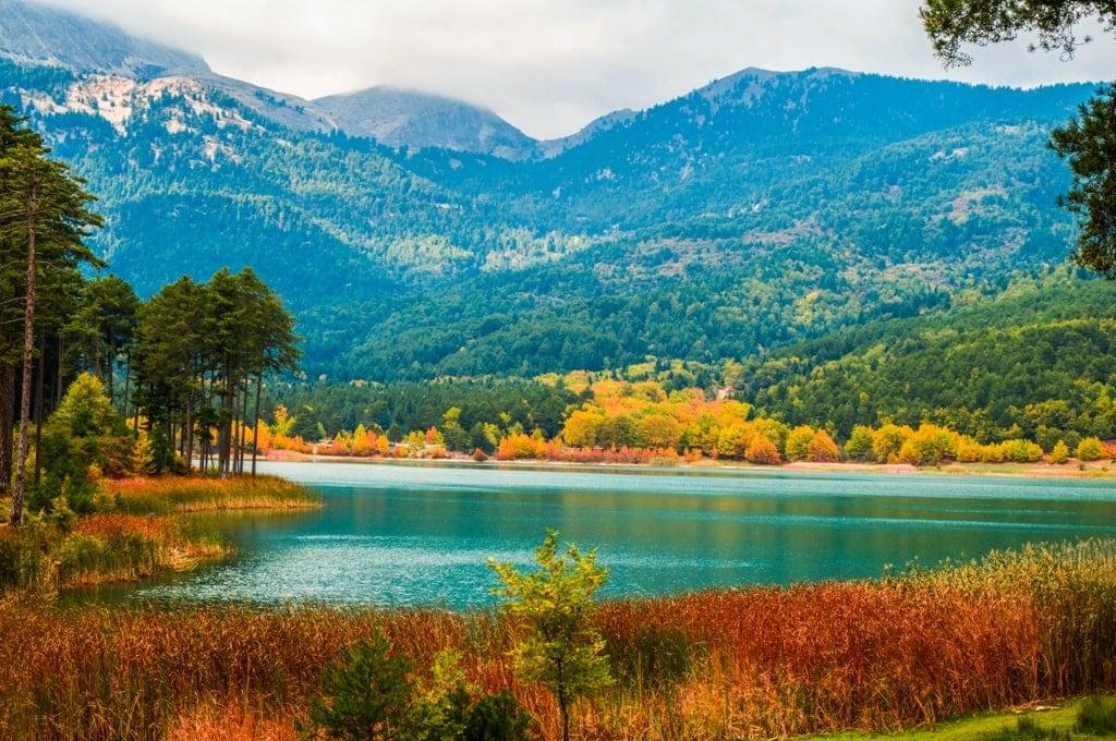 Lake Doxa  Greece