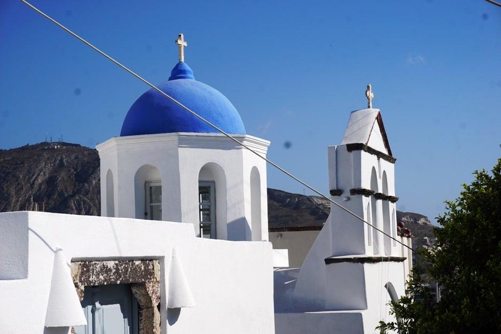 Pyrgos Village in Santorini