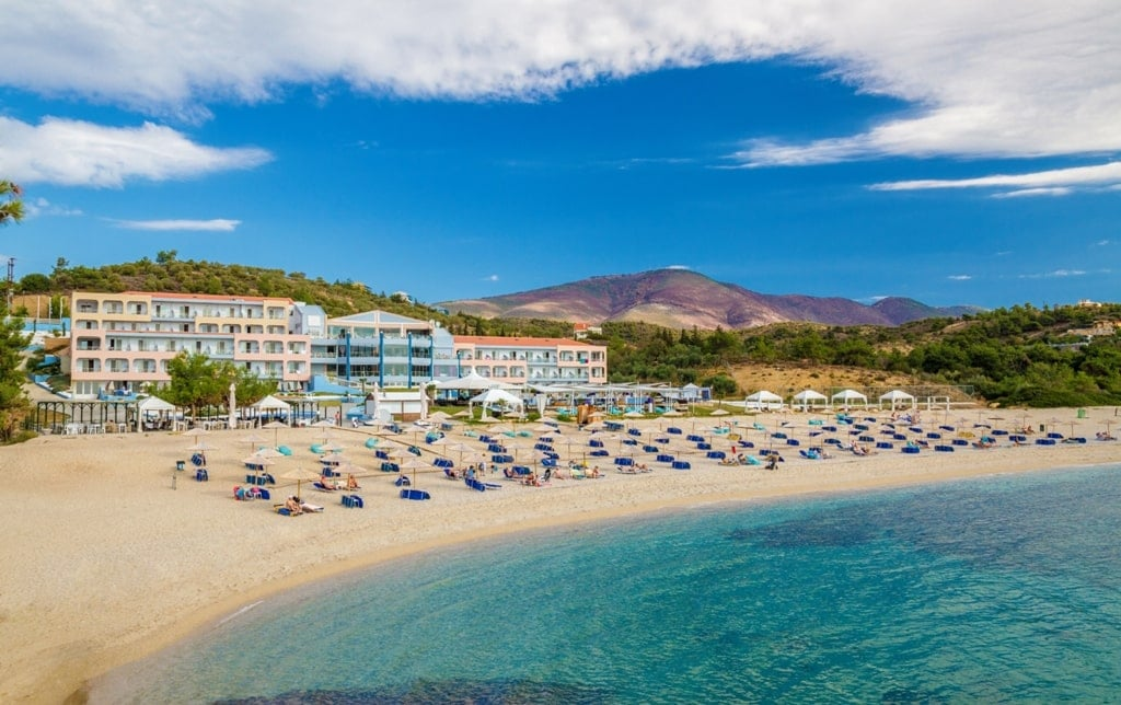 Trypiti beach - Best Thassos beaches