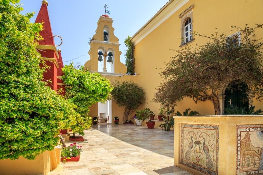 Monastery of Paleokastritsa Corfu
