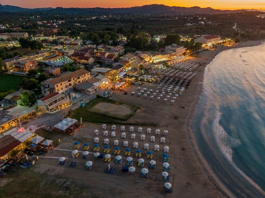 Roda Beach in Corfu