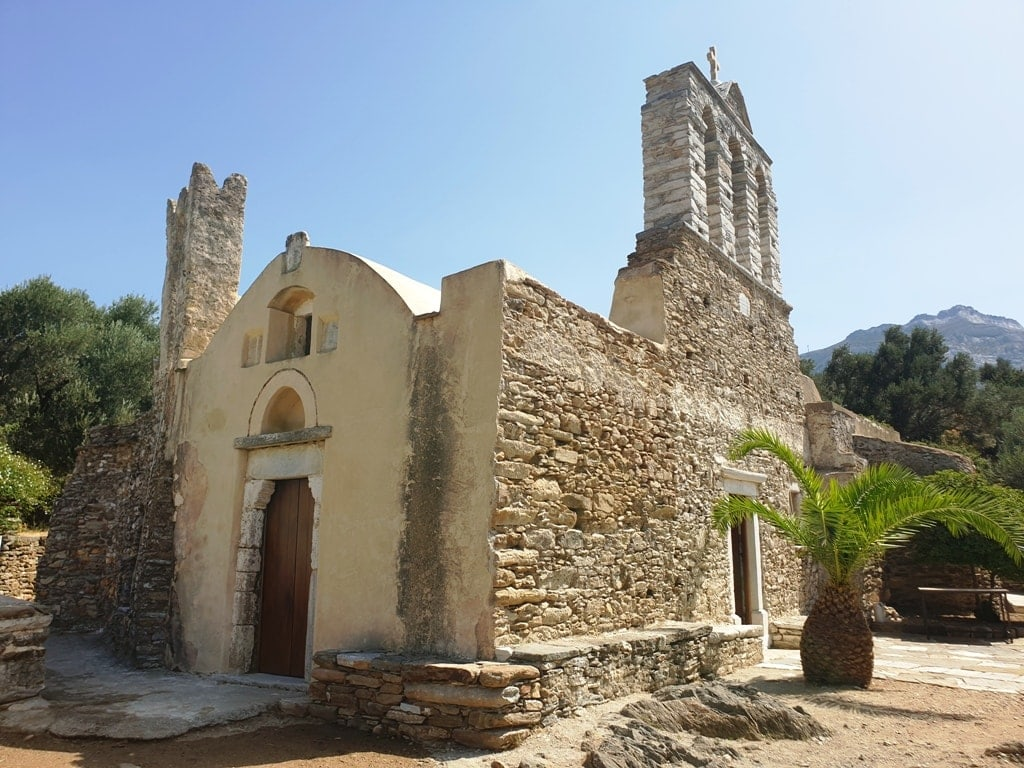 paleochristian church of Panagia Drosiani - things to do in Naxos