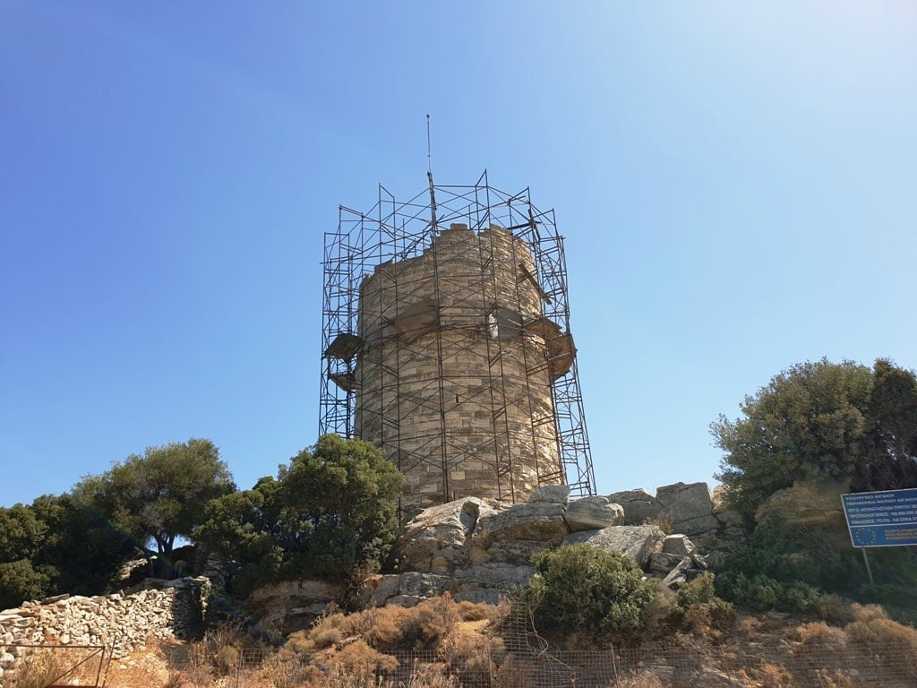 Cheimarros tower - things to do in Naxos Greece