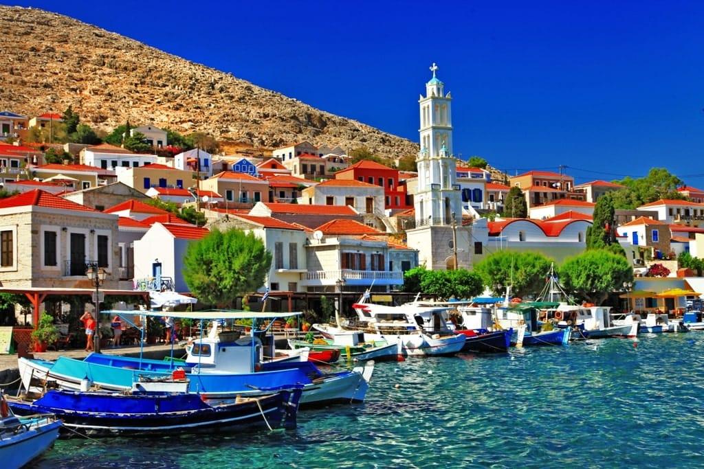 Halki - quiet Greek island