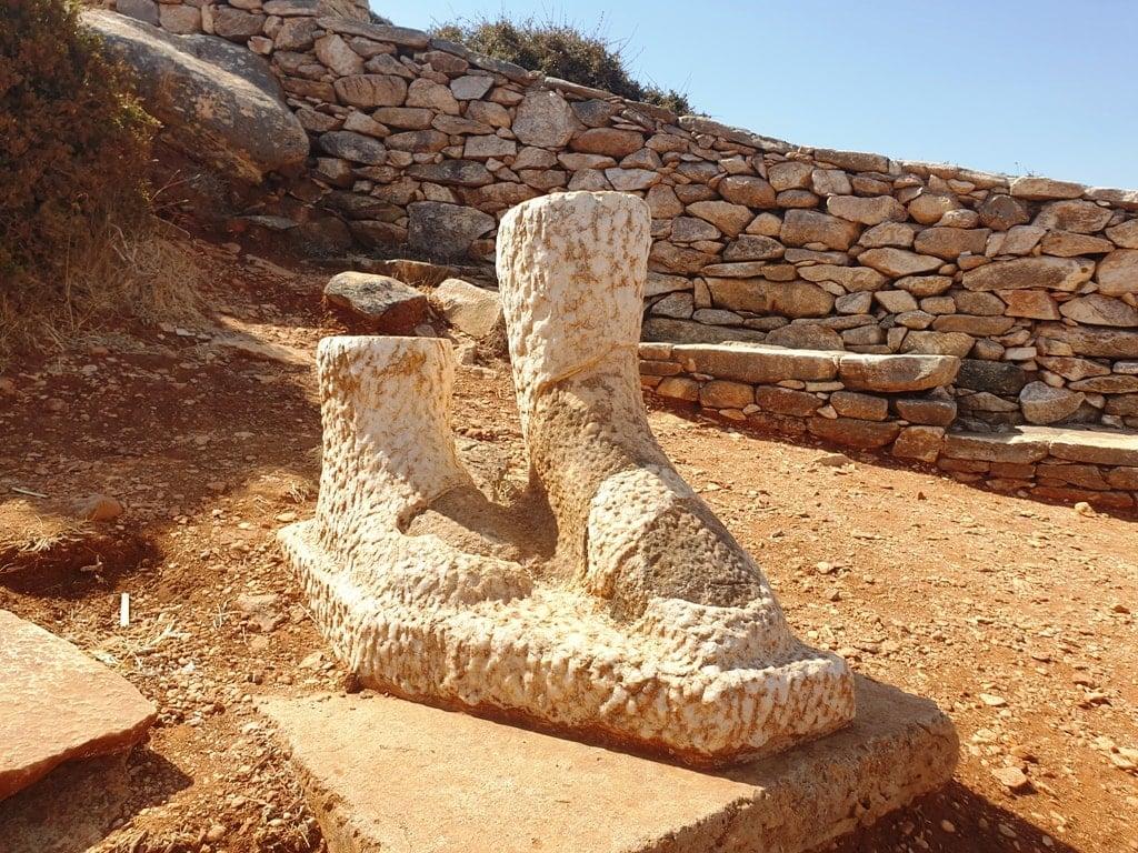 Kouros of Naxos in Melanes