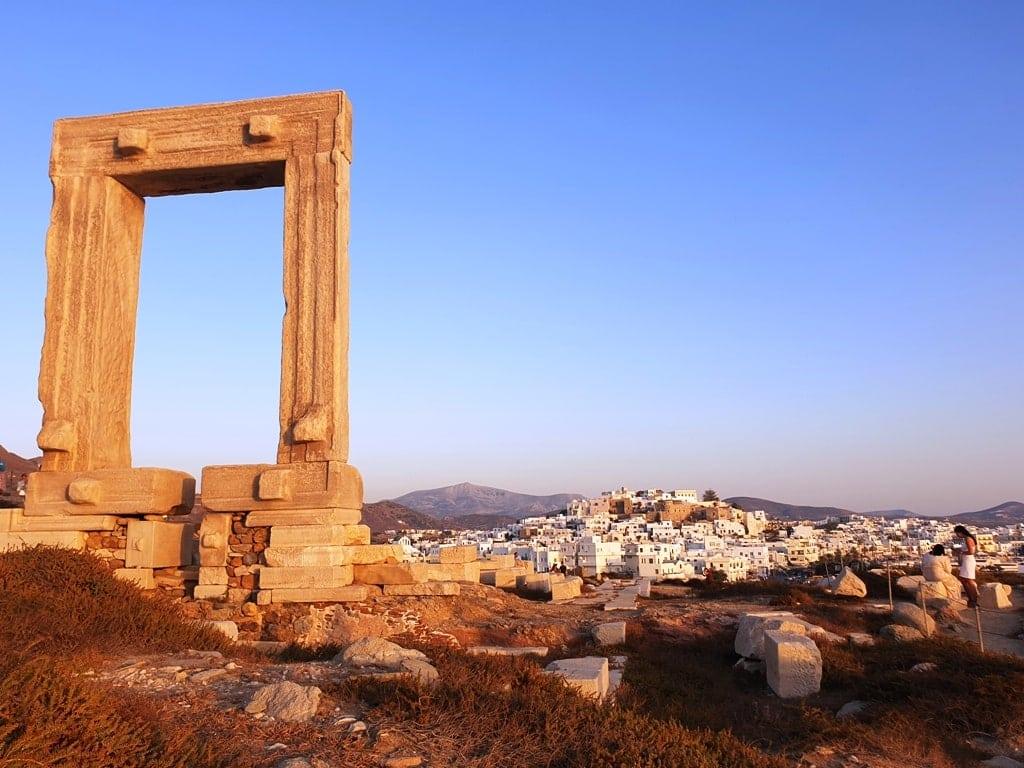 Portara - Things to do in Naxos island Greece