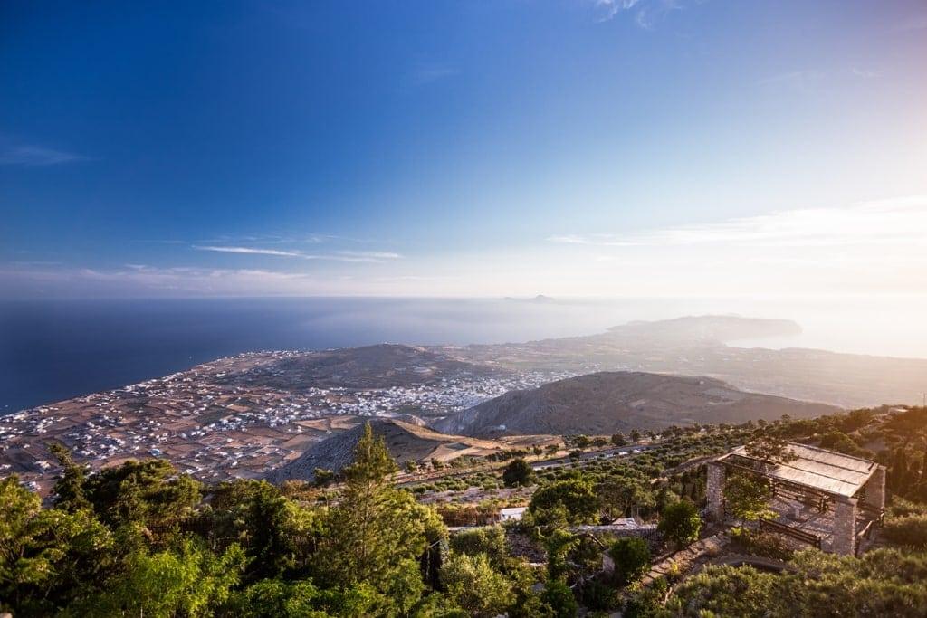 View from Profitis Ilias Monastery