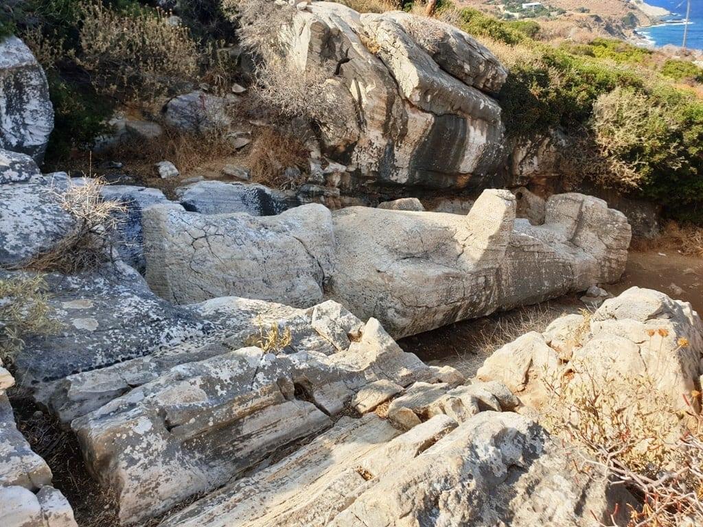 Kouros of Apollonas -Naxos island Greece