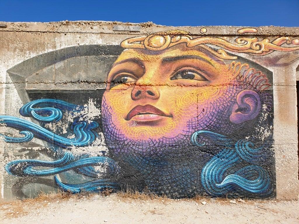 street art in Alyko Naxos