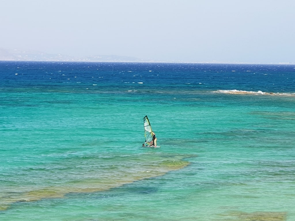 winsurfing in Naxos - Things to do in Naxos Greece