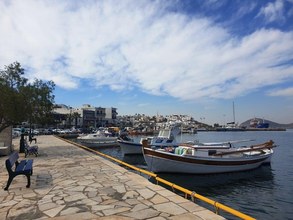 Gavrios Andros Island Greece