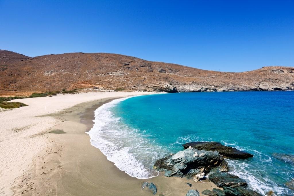 Achla Beach - best Andros Beaches