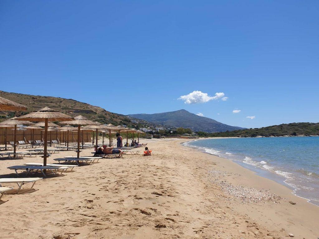 St Peter's Beach (Agios Petros Beach) - Best Beaches in Andros