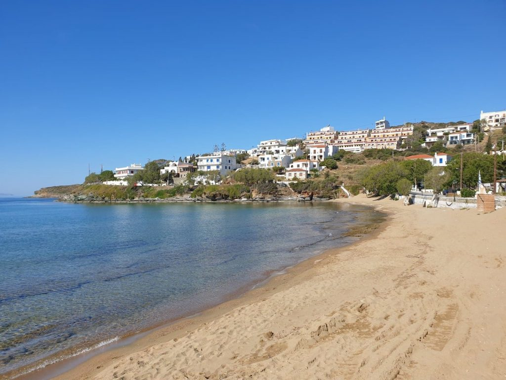 Batsi Beach- Best Beaches in Andros