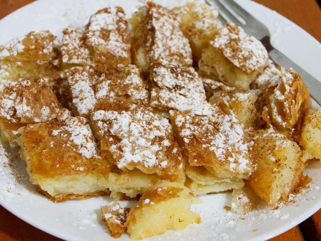 Bougatsa - Greek Breakfast