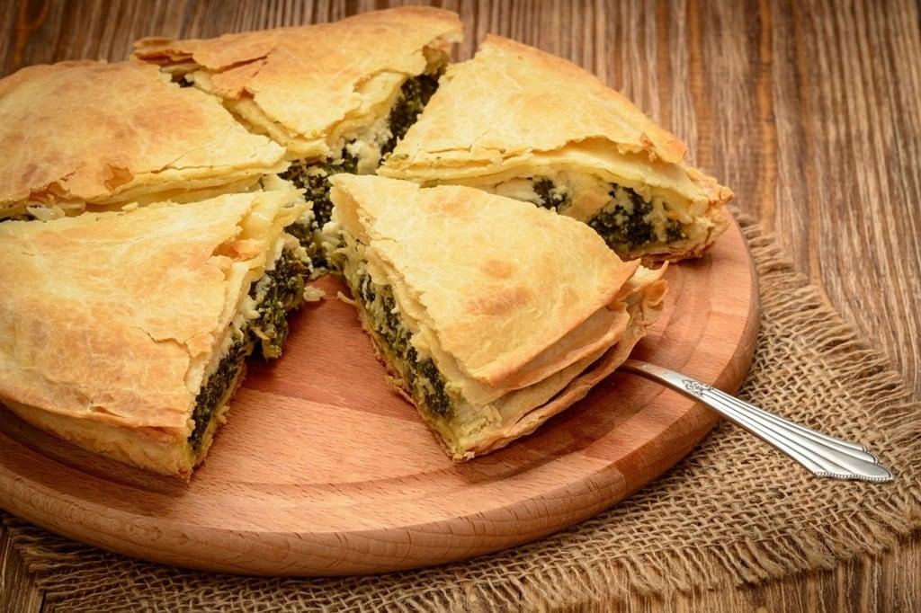 Greek pies for breakfast