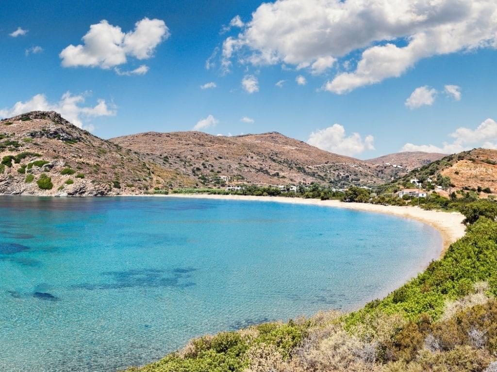 Fellos Beach - beaches in Andros Greece