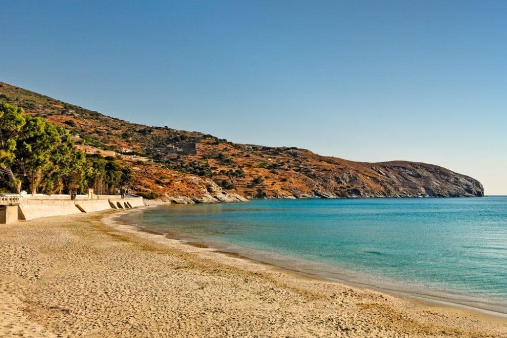 Gialia Beach - best Anrdros beaches