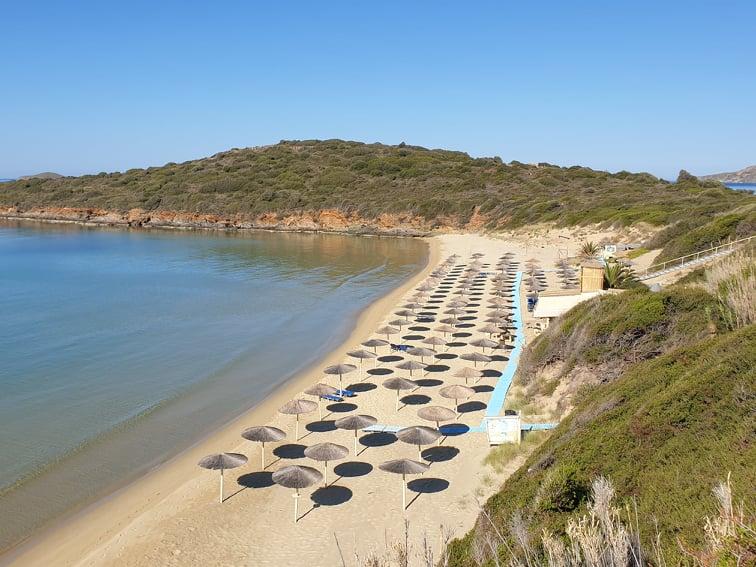 Golden Sand Beach (Chrissi Ammos Beach) - Andros best beaches